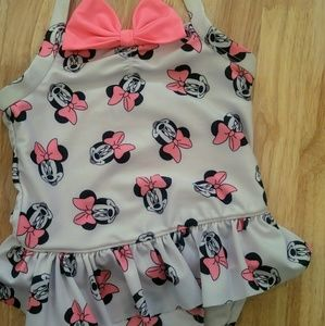 Old Navy Minnie Mouse one piece swimsuit